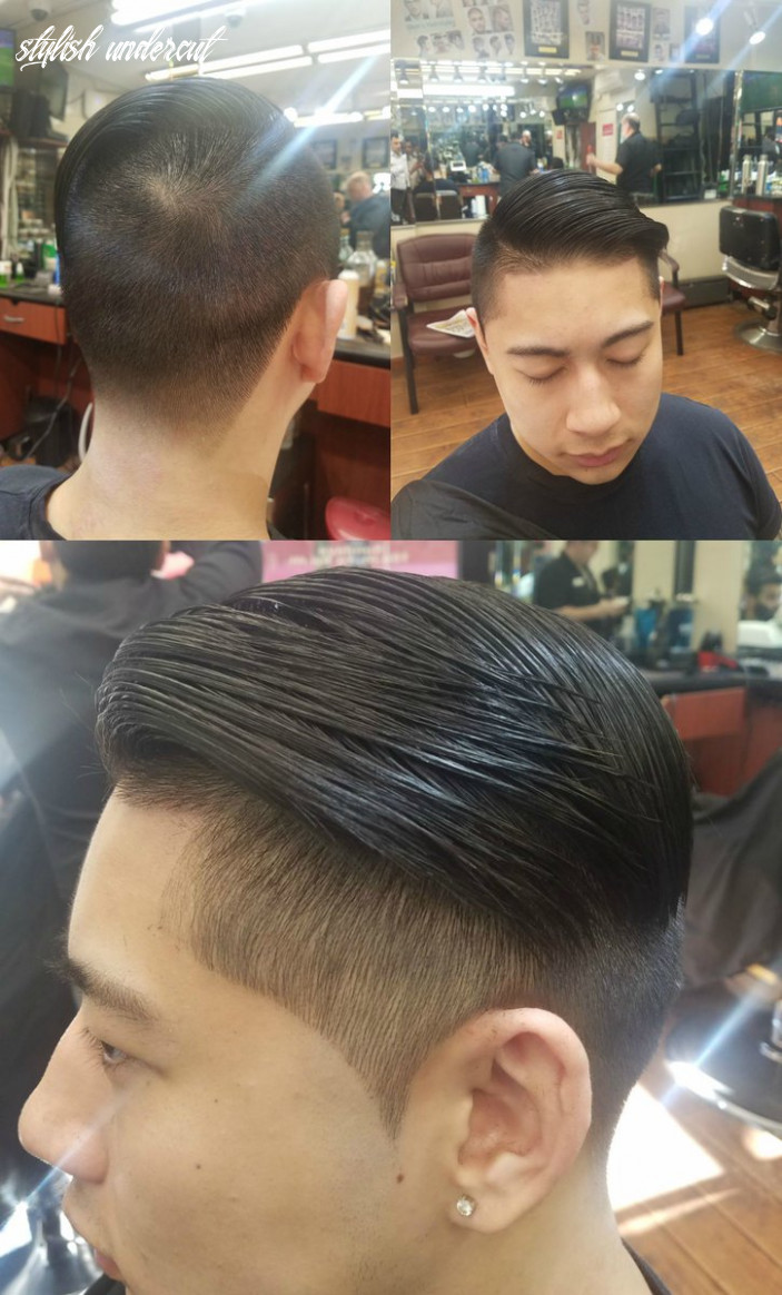 "George's 12 Barber Shop Twitterren: ""Stylish #undercut by George's ..."