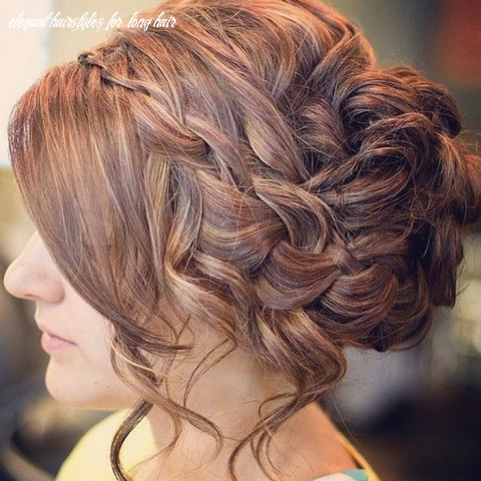 Glamorous And Beautiful Prom Updo for Long Hair - Ohh My My