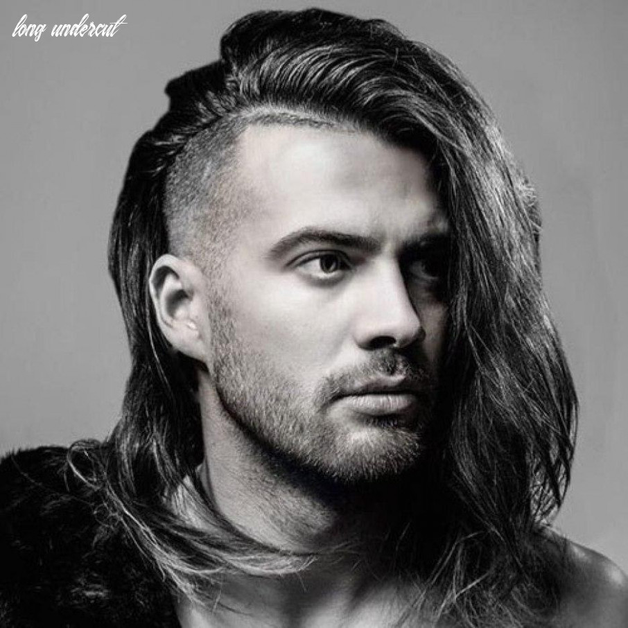 Good looking long hair undercut male ifashionguy long undercut