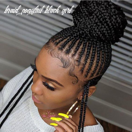 Gorgeous African Ponytail Braids for Black Women | Natural Girl Wigs