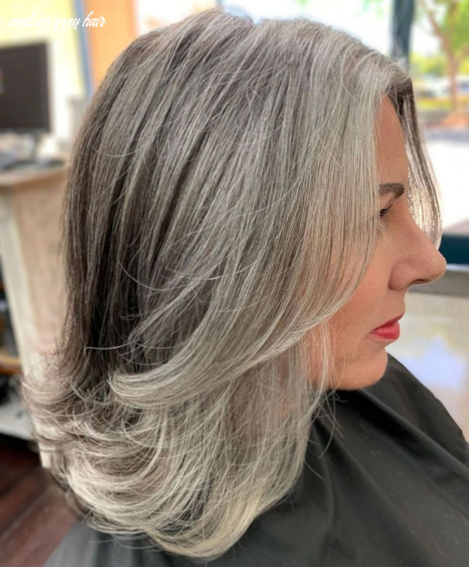 Gorgeous Gray Hair Styles Try In 10 - 10's Hairstyles