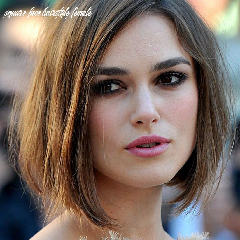 Great haircuts for your square shaped face square face hairstyle female