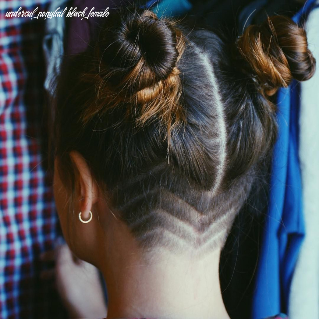 grunge hair, buns, undercut, girls undercut, shaved head, grunge ...