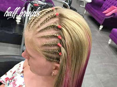 Hair braiding styles & prices | miss miracle salon, khao lak half braids