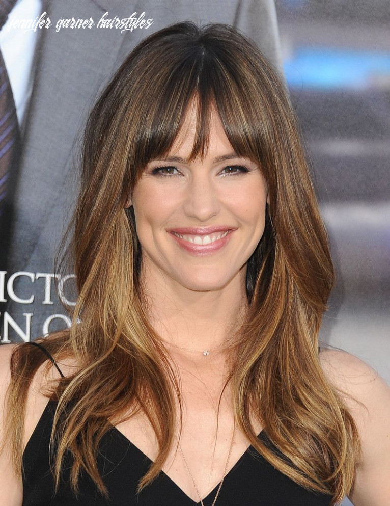 Hair Envy Of The Day: Jennifer Garner's Fringed Bangs | Jennifer ...