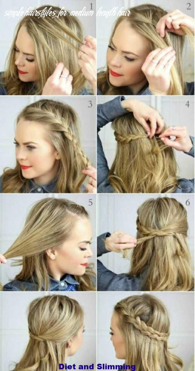 Hair #hairstyle #imple #mediumlength #simple how do you make a
