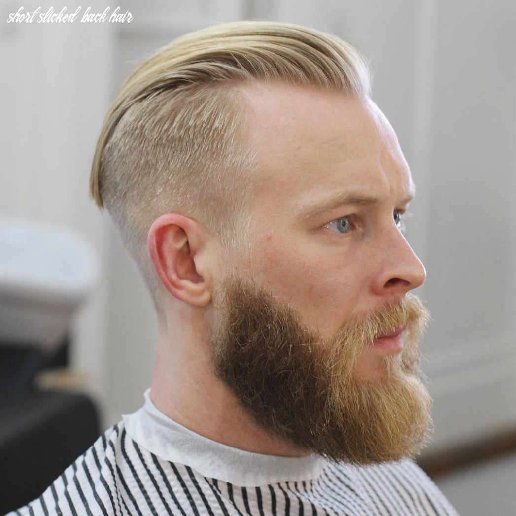 Hair Slicked Back - Hairstyle Men