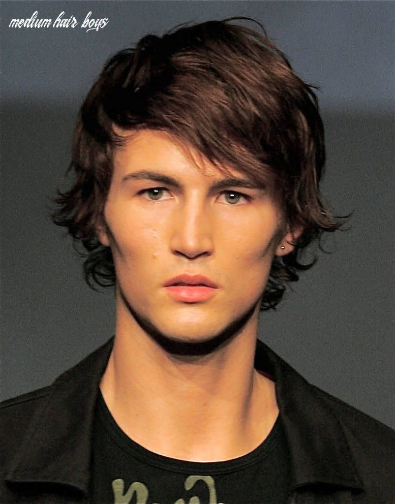Hair styles men ^ ^8 boy hairstyles for medium length hair