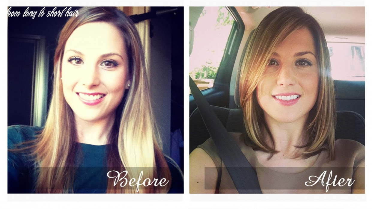 Haircut: from long to short! from long to short hair