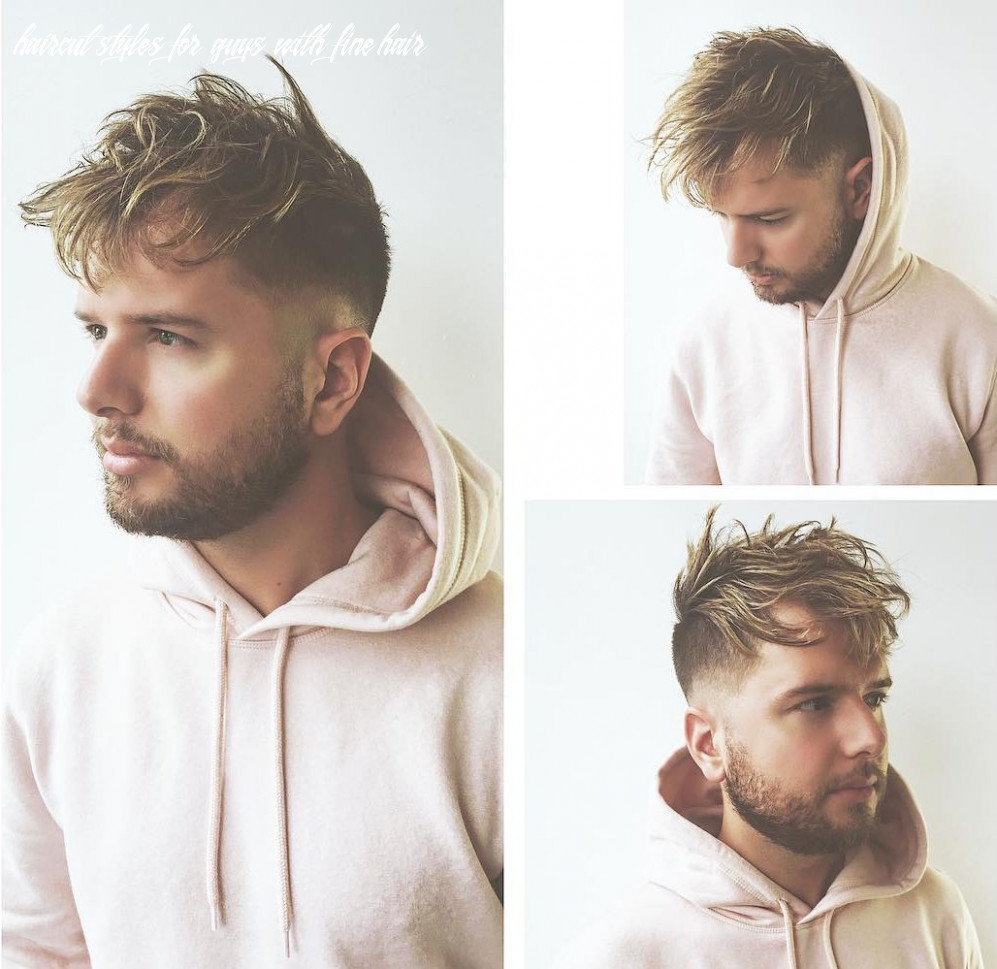 Haircuts for men with thin hair haircut styles for guys with fine hair