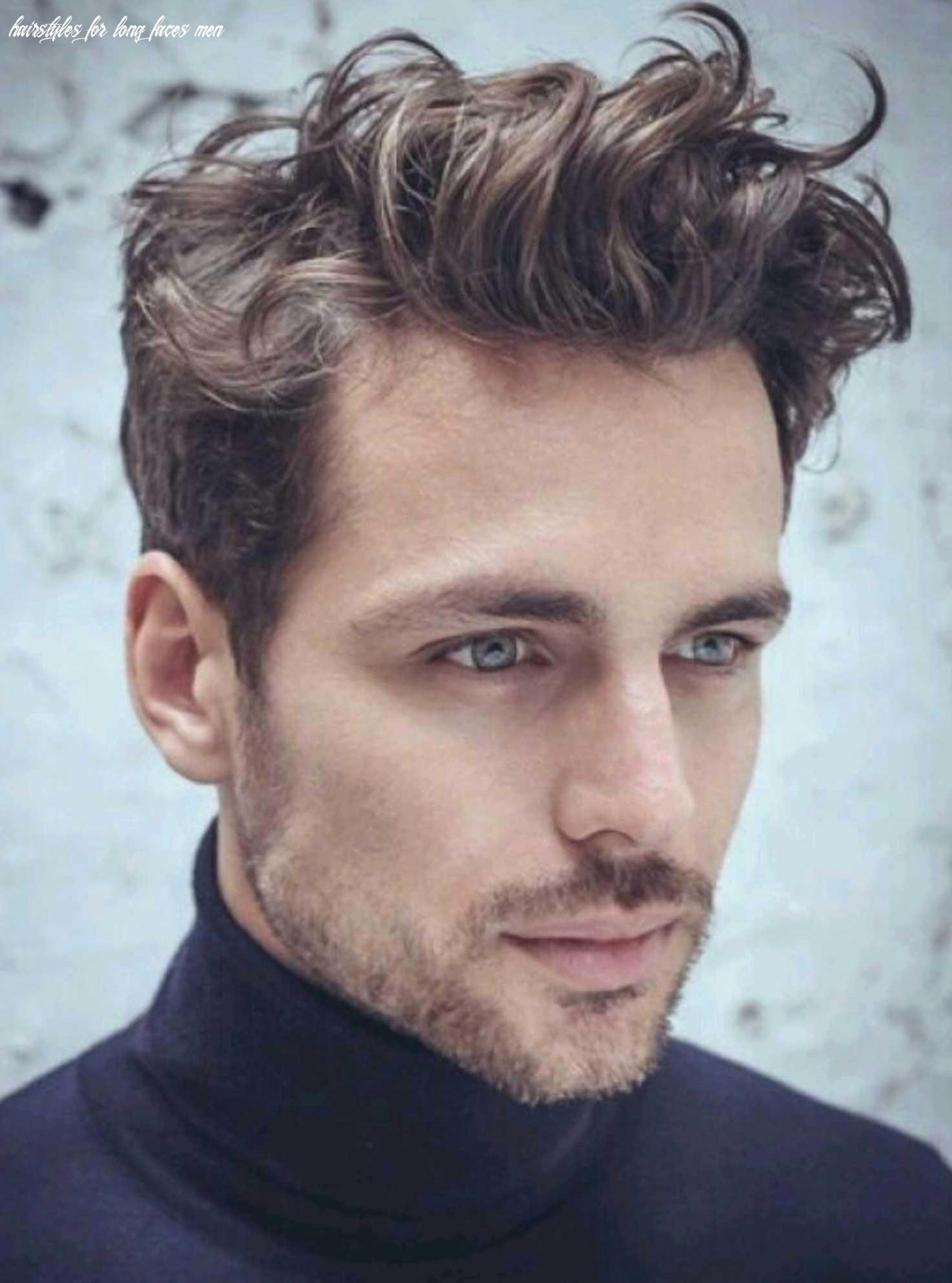 Hairstyle for oblong face man inspirational hairstyles for long