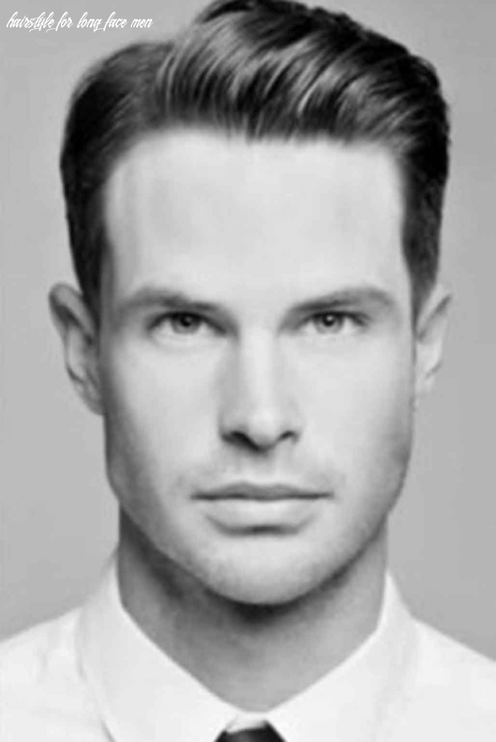 Hairstyle for oblong face men | oblong face hairstyles, oblong