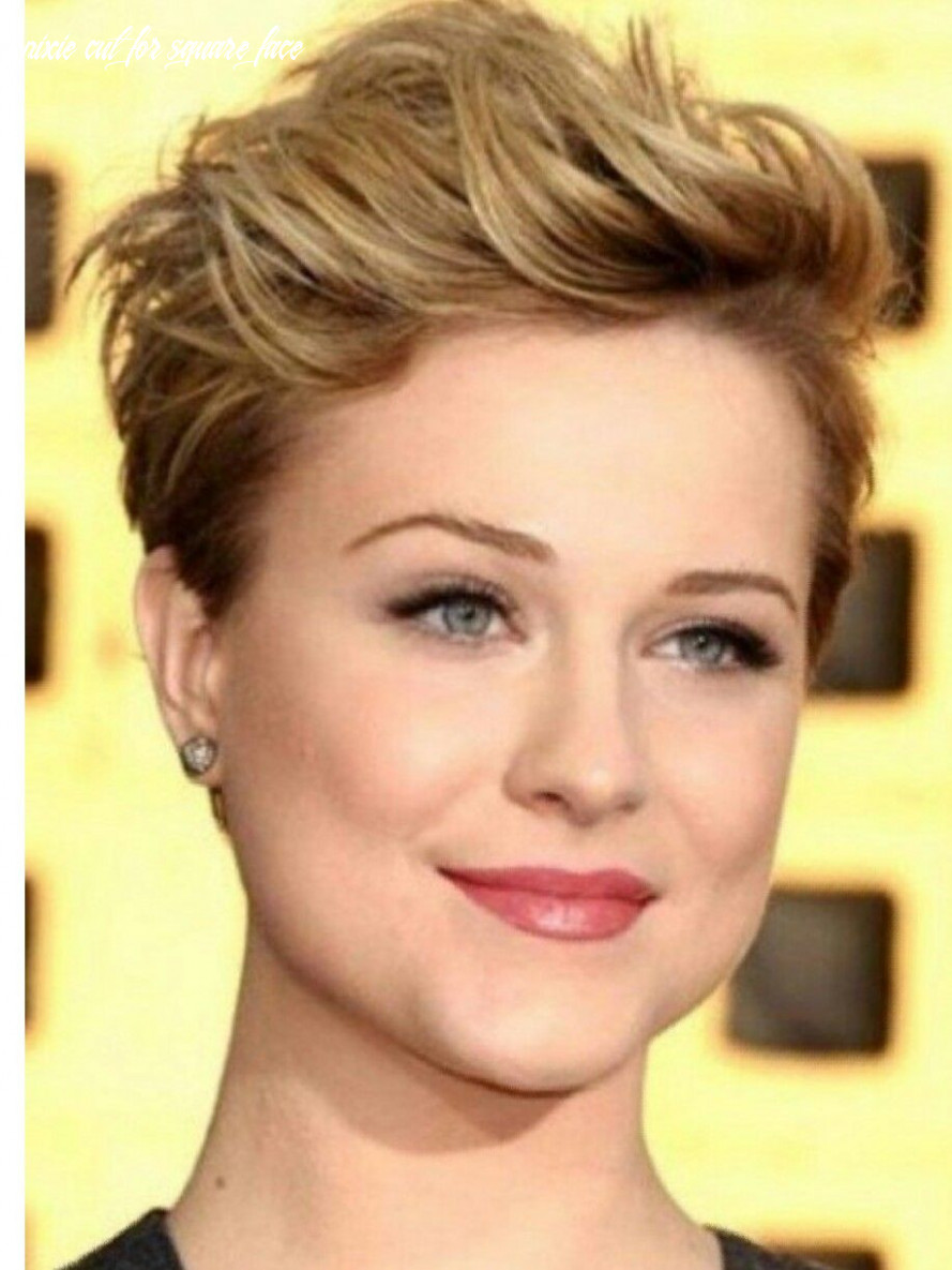 Hairstyle for square face man new pixie poof hair cuts photos pixie cut for square face