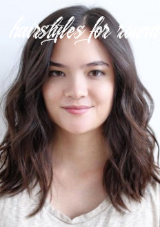 Hairstyles and haircuts for round faces in 8 — therighthairstyles hairstyles for round face female
