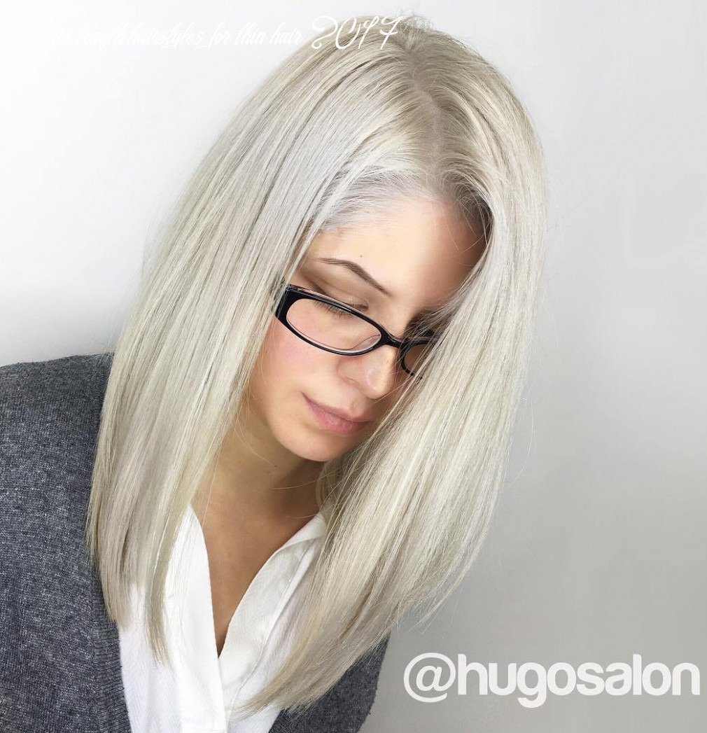 Hairstyles and haircuts for thin hair in 10 — therighthairstyles medium length hairstyles for thin hair 2017