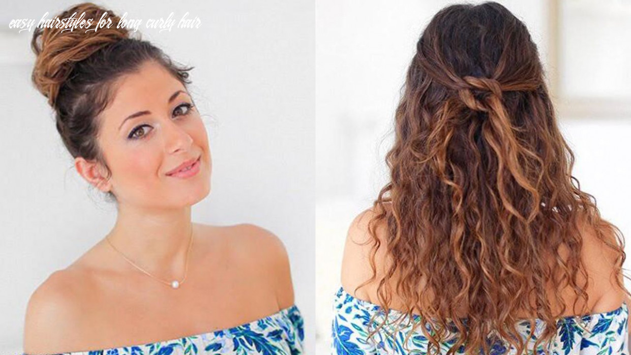 Hairstyles for frizzy hair: best hairstyles for naturally wavy hair easy hairstyles for long curly hair