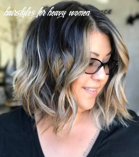 Hairstyles for full round faces – 12 best ideas for plus size women hairstyles for heavy women