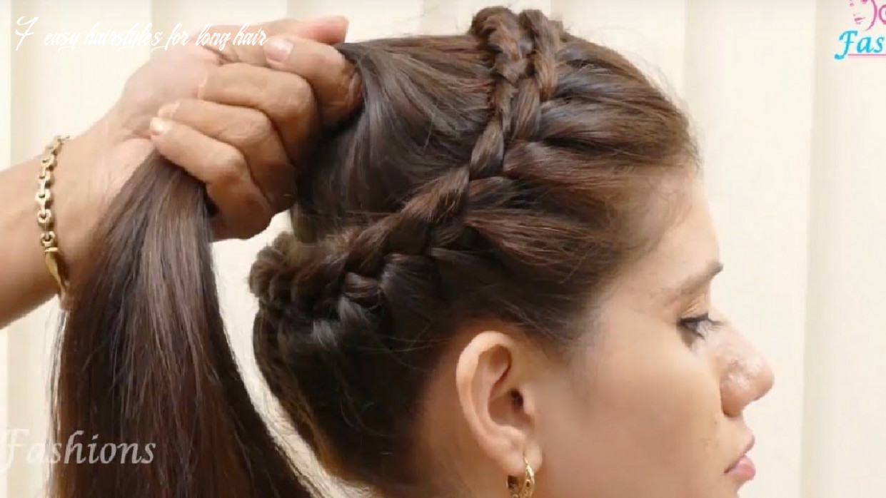 Hairstyles for girls with long hair easy in 11 (with images