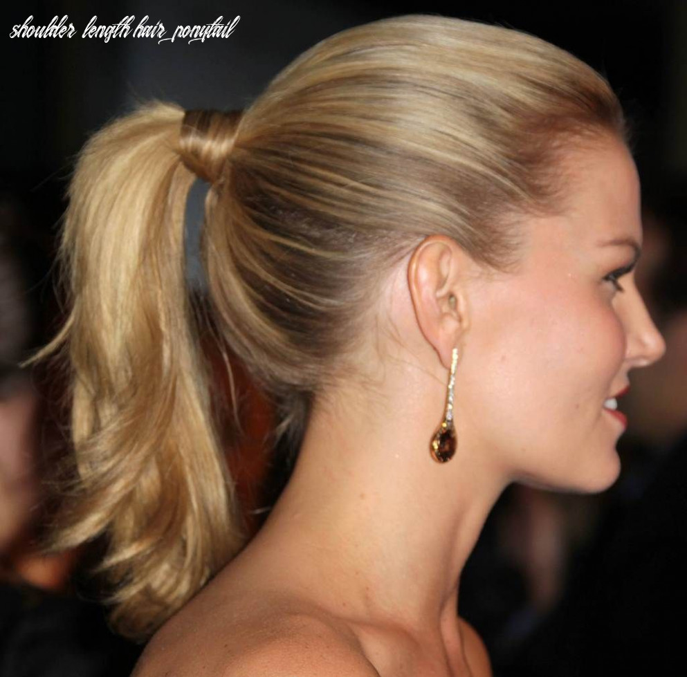 hairstyles for medium length hair tied up | Hairstyles | Pony ...