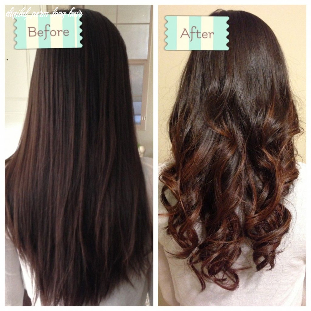 Hey h ombre (with images) | permed hairstyles digital perm long hair