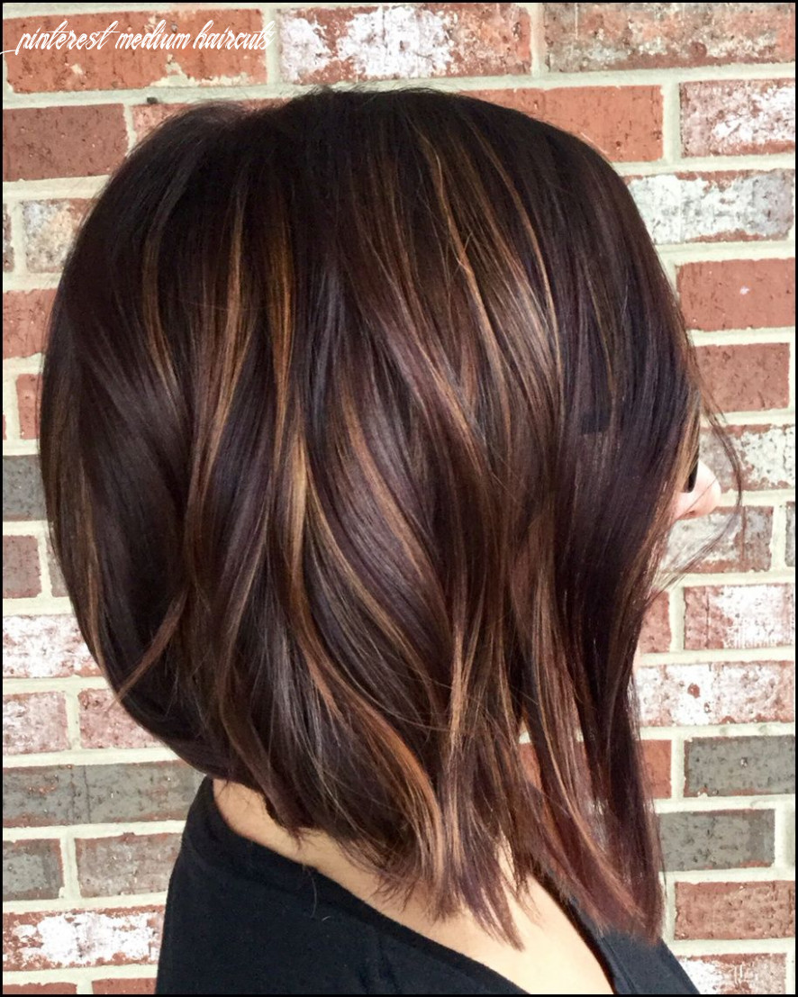 Highlights dark hair | Hair | Pinterest | Frisur, Haar ideen und ...