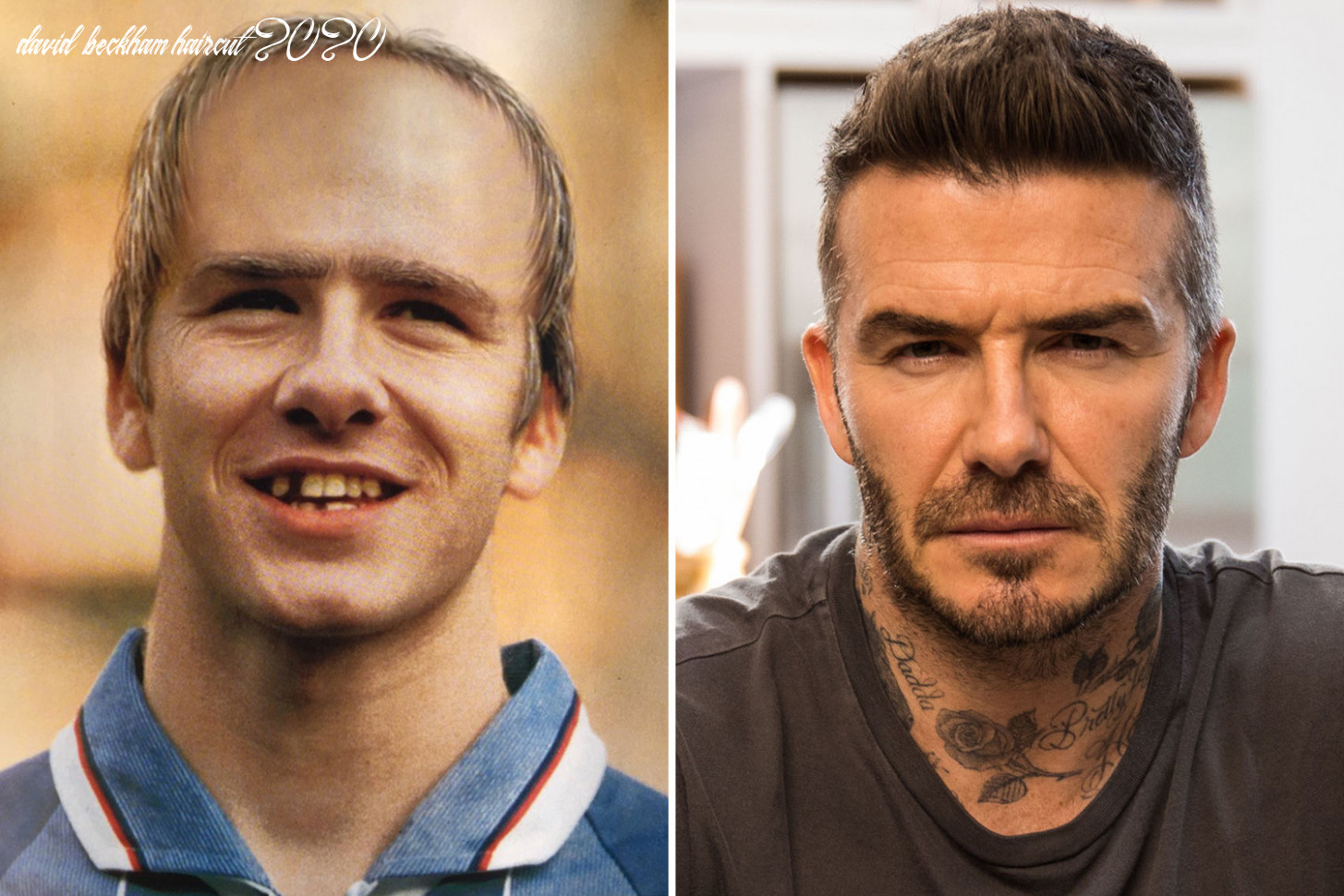 How David Beckham would look in 12 prediction from 12 goes ...