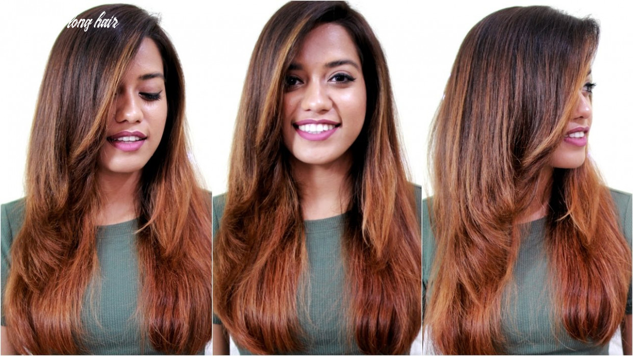 How to blowdry hair straight with volume blow dry long hair
