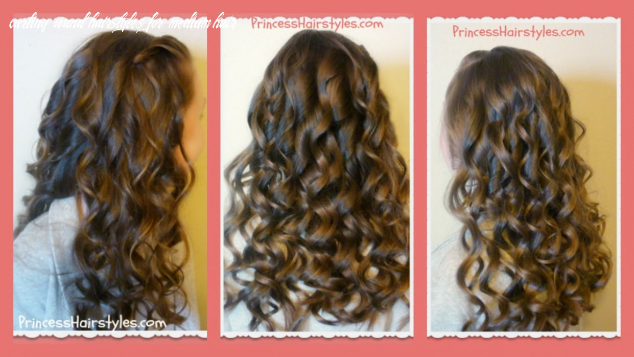 How to create beautiful curling wand curls curling wand hairstyles for medium hair