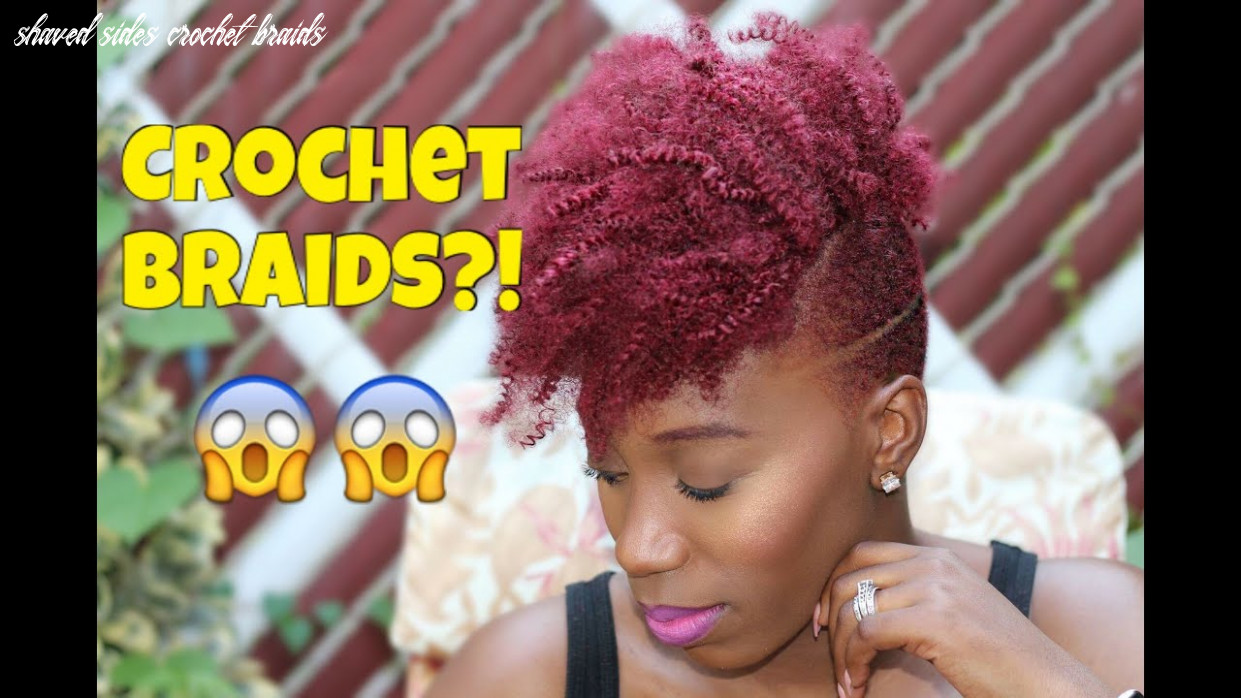 How to | crochet braids & shaved sides & undercut youtube shaved sides crochet braids