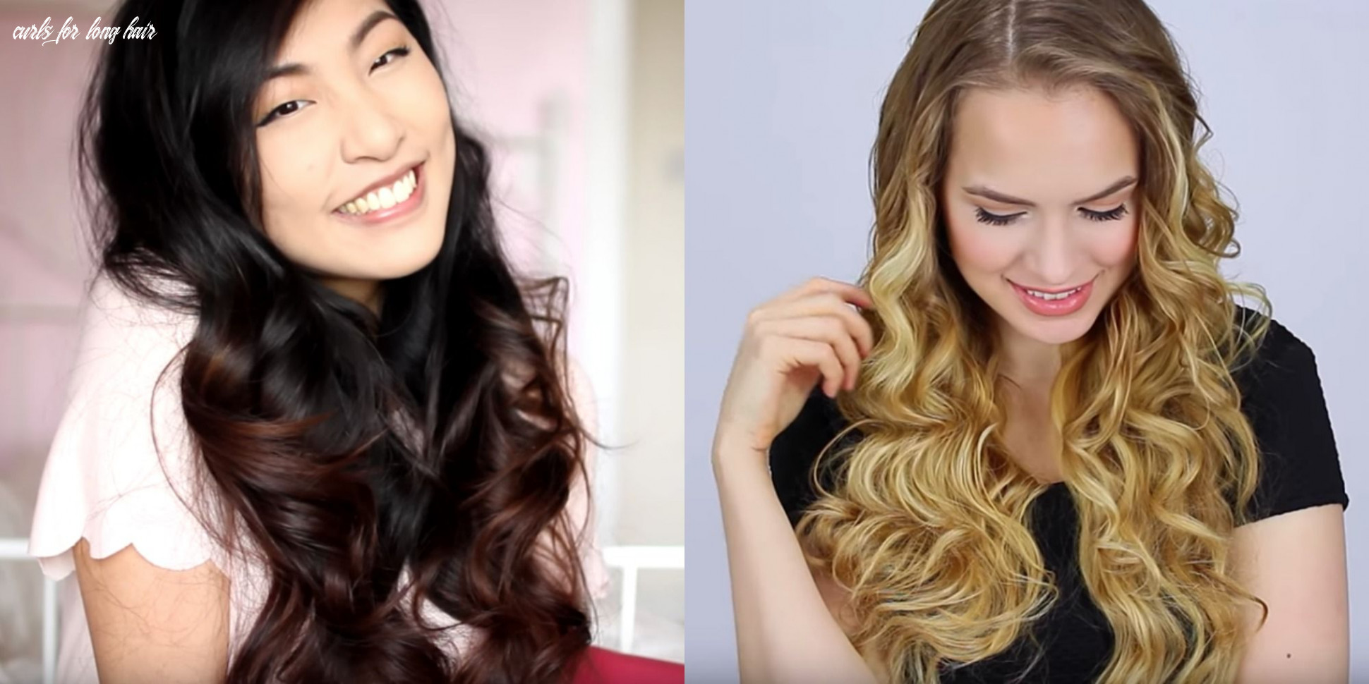 How to curl long hair quick and easy ways to curl long hair curls for long hair