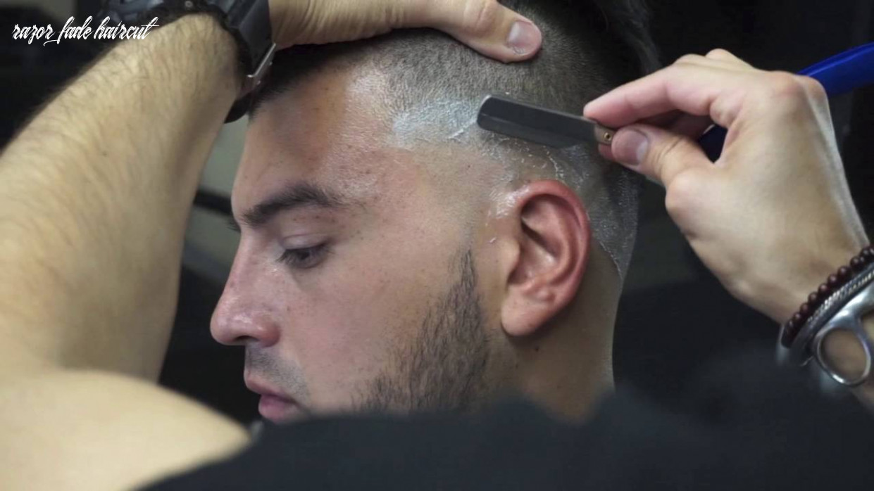 How to cut & style a razor fade | step by step tutorial razor fade haircut