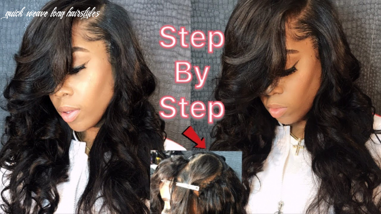 How to do a Deep side part Quick-Weave ft Alibele Hair