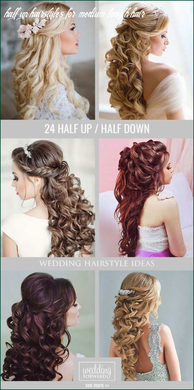 How to do half up half down hairstyles awesome wedding hairstyles