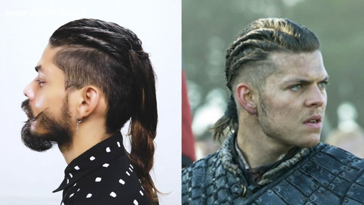 How to do ivar hairstyle from vikings series ragnar lothbrok hairstyle