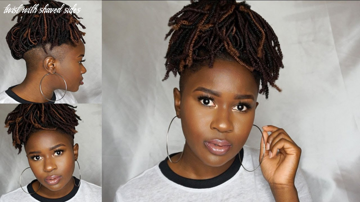 How to do nubian twist crochets with shaved sides/undercut info!!!|mona b