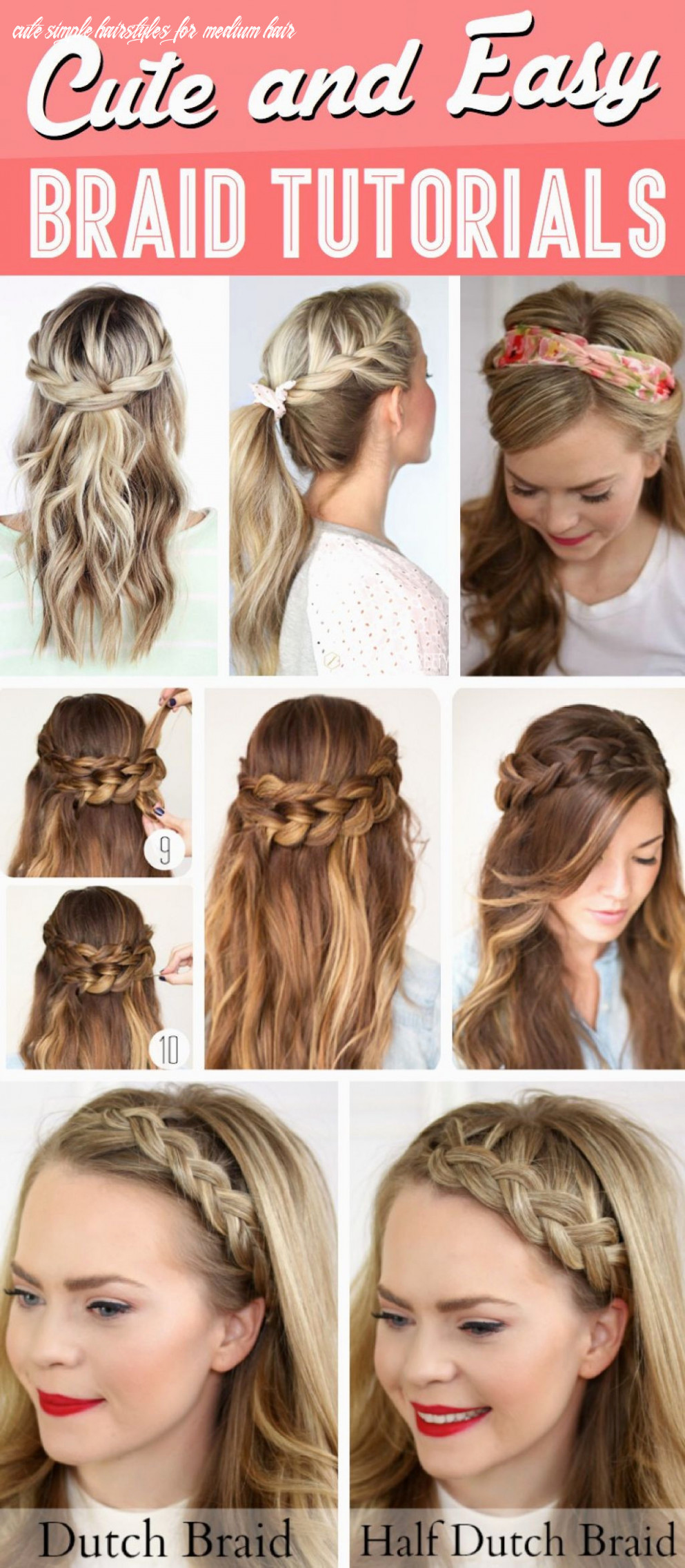 How to Do Simple Hairstyles by Yourself Fresh Cute Simple ...