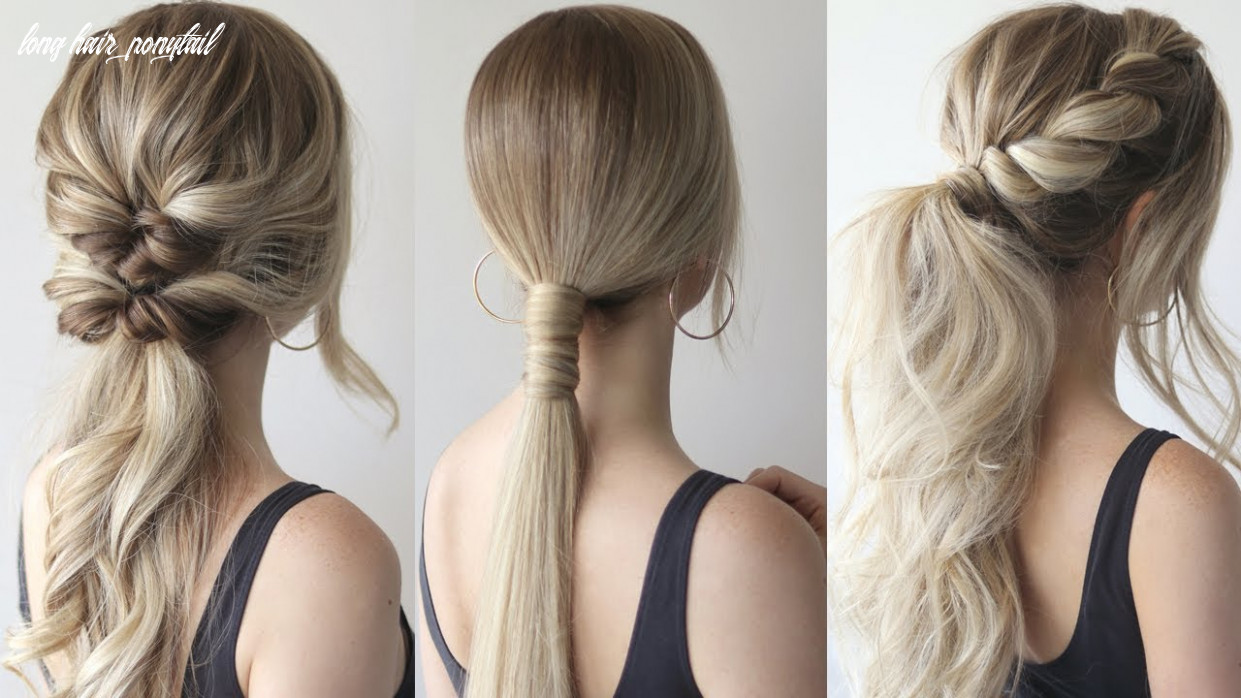 How to: easy ponytails | perfect prom hairstyles 12 long hair ponytail