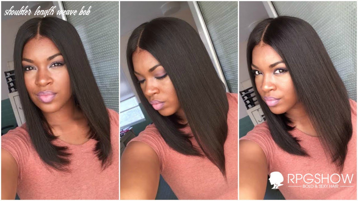 How to get natural looking on shoulder length rpgshow bob |ashanti inspired full lace wig shoulder length weave bob