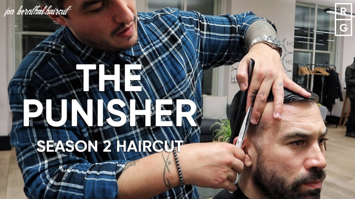 How to get the punisher season 12 haircut | jon bernthal frank castle hairstyle jon bernthal haircut