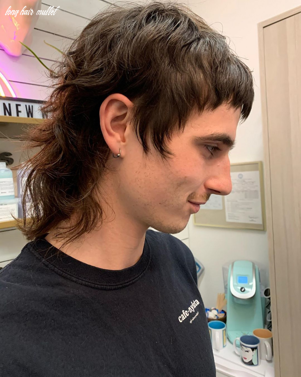 How to grow a mullet haircut & 9 ways to wear it (9 update) long hair mullet