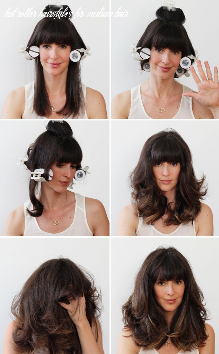 How to hot roller your hair (with images)   hair rollers tutorial