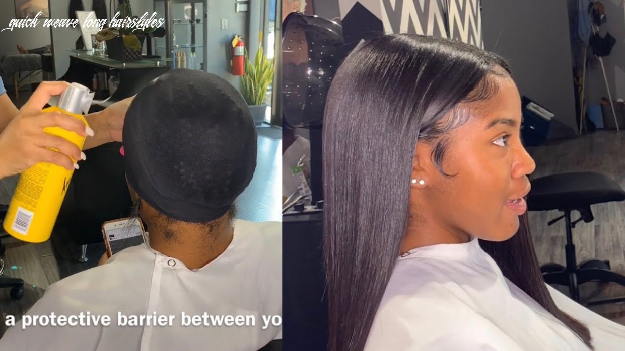 How to: protective quick weave quick weave long hairstyles
