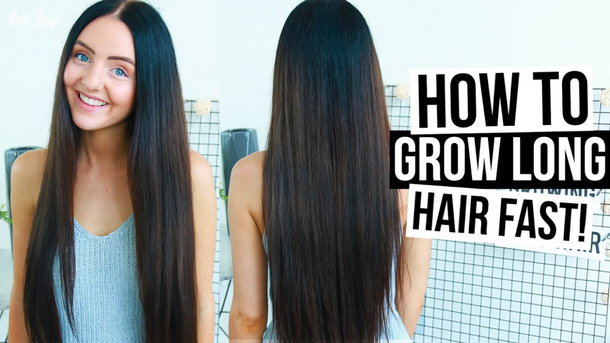 How To REALLY Grow LONG HAIR FAST & NATURALLY! (Easy Tips + Tricks) 11
