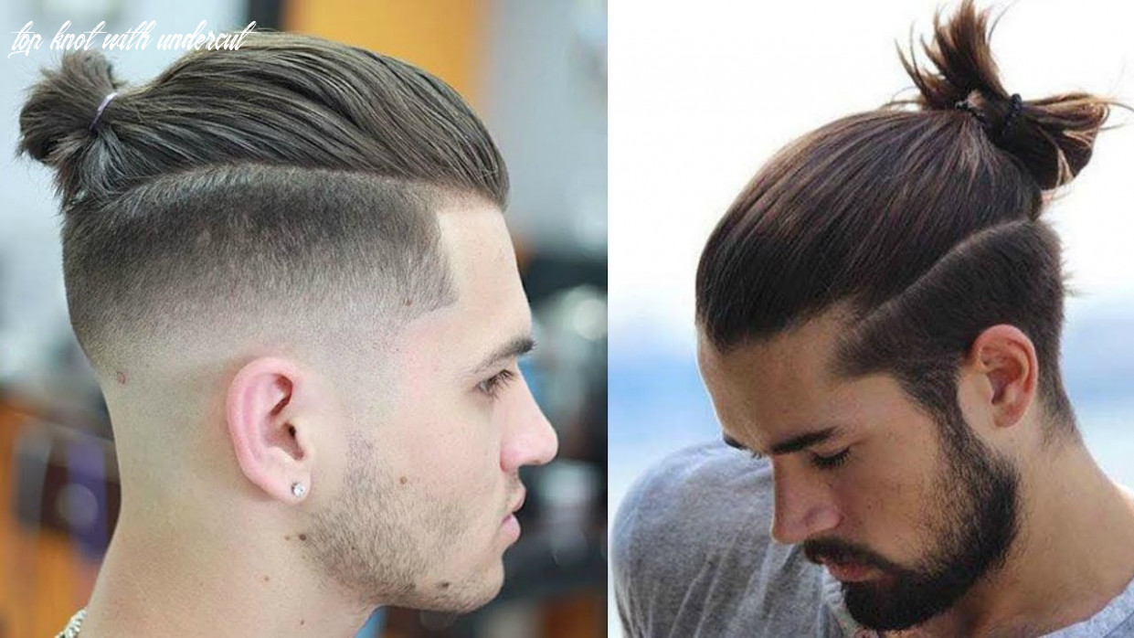 How to style a top knot/ man bun | 11 ways | mens hair 11017 top knot with undercut
