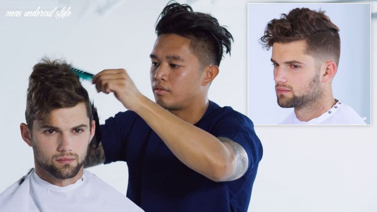 How to Style an Undercut Haircut, Step-by-Step | Men's Grooming and Hair |  GQ