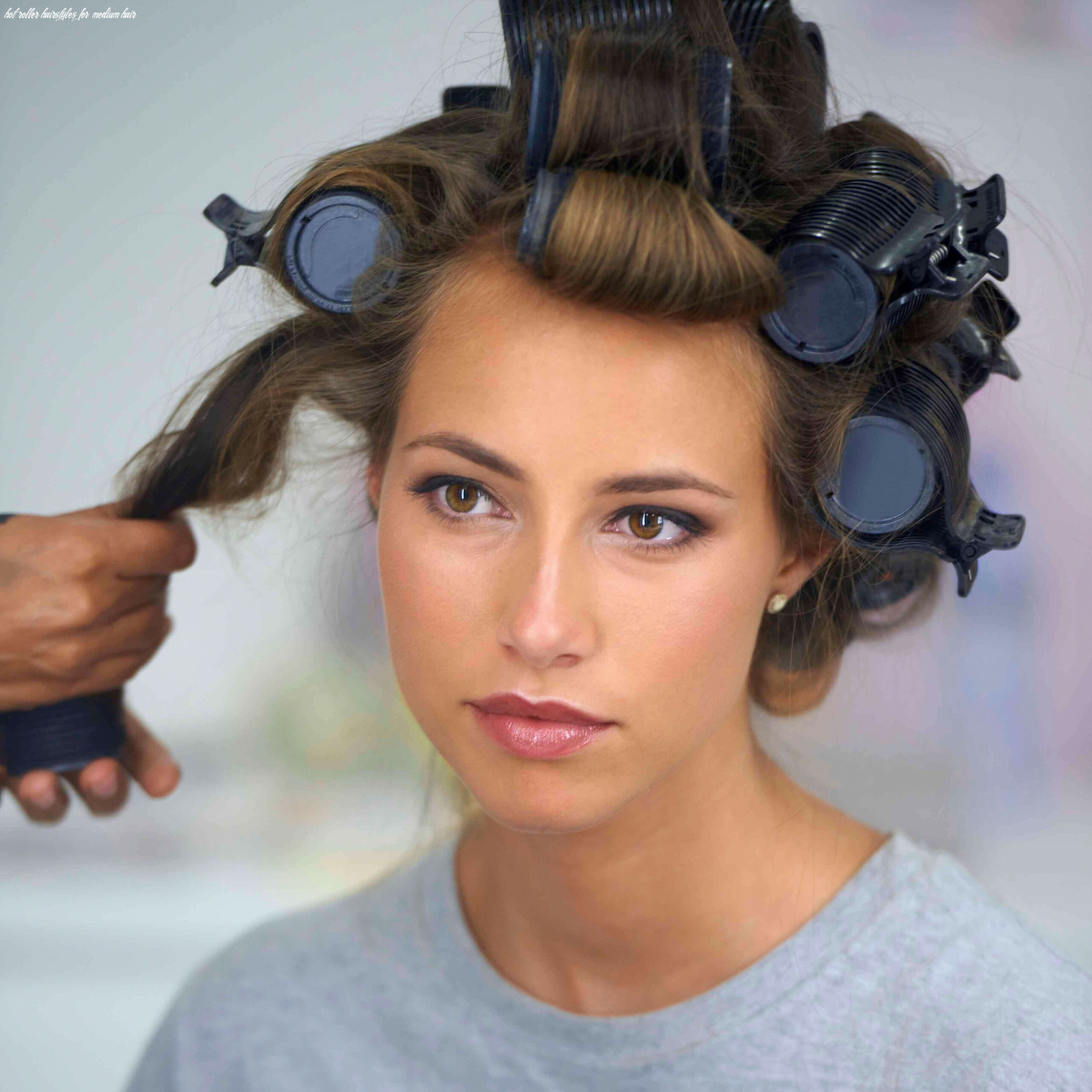 How to use hair rollers in 12 easy ways   hot rollers hair, hair