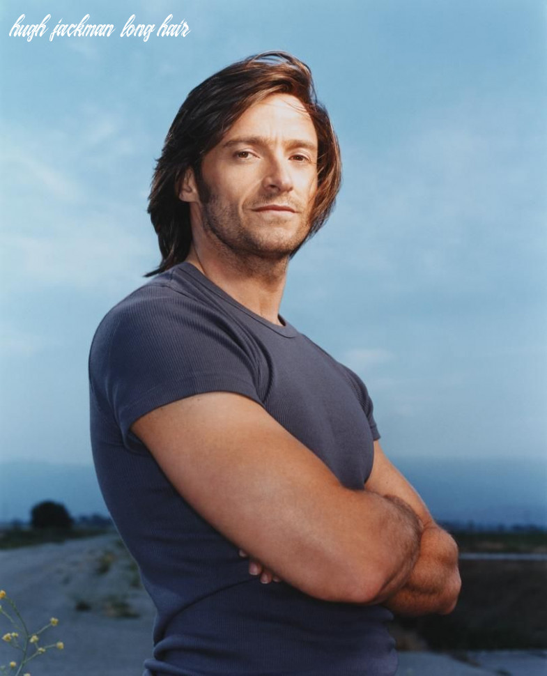 I have a thing for semi long hair can you tell? ;-P #hughjackman ...