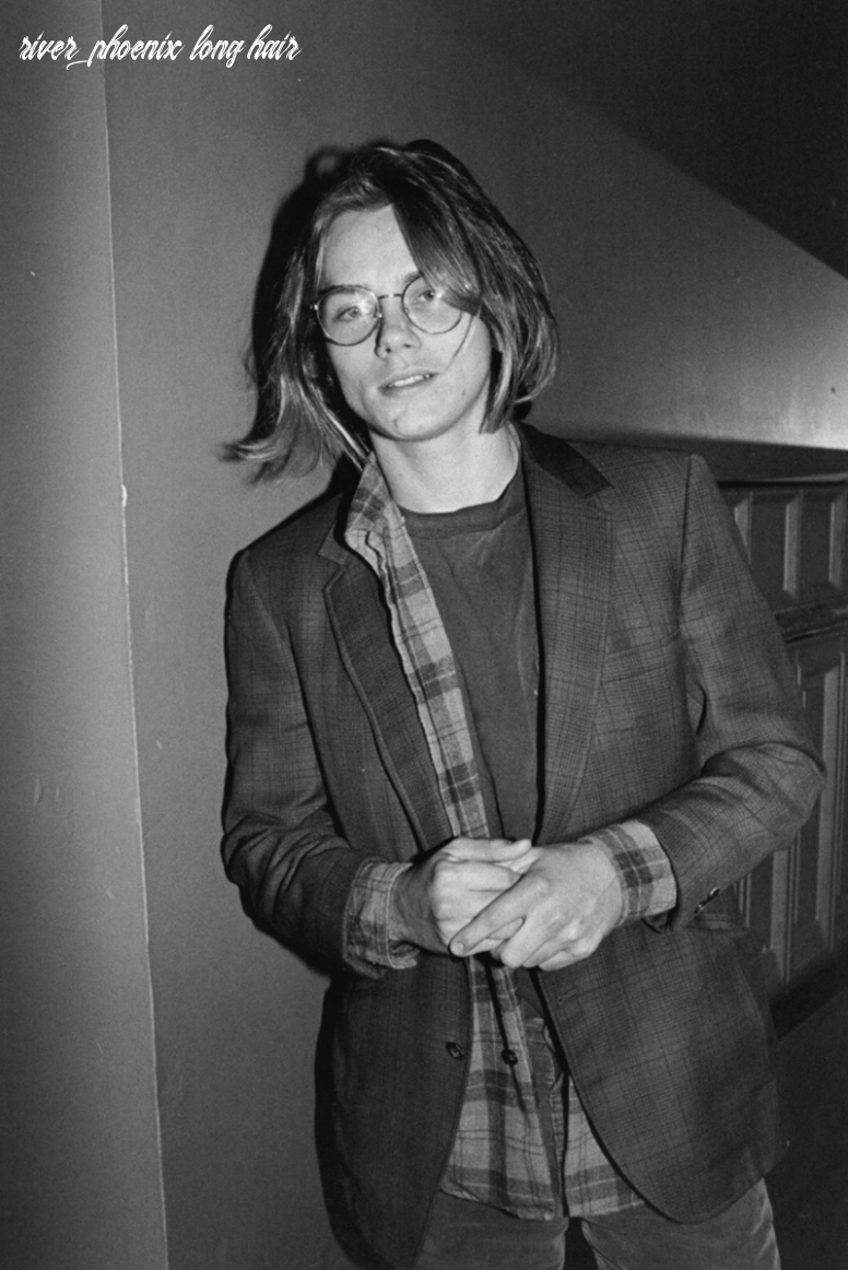 I truly like that: river phoenix with long hair river phoenix long hair