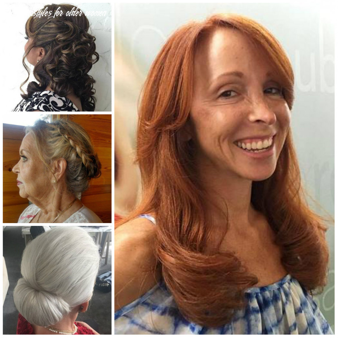 Incredible Long Hairstyle for Older Women for 8   8 Haircuts ...