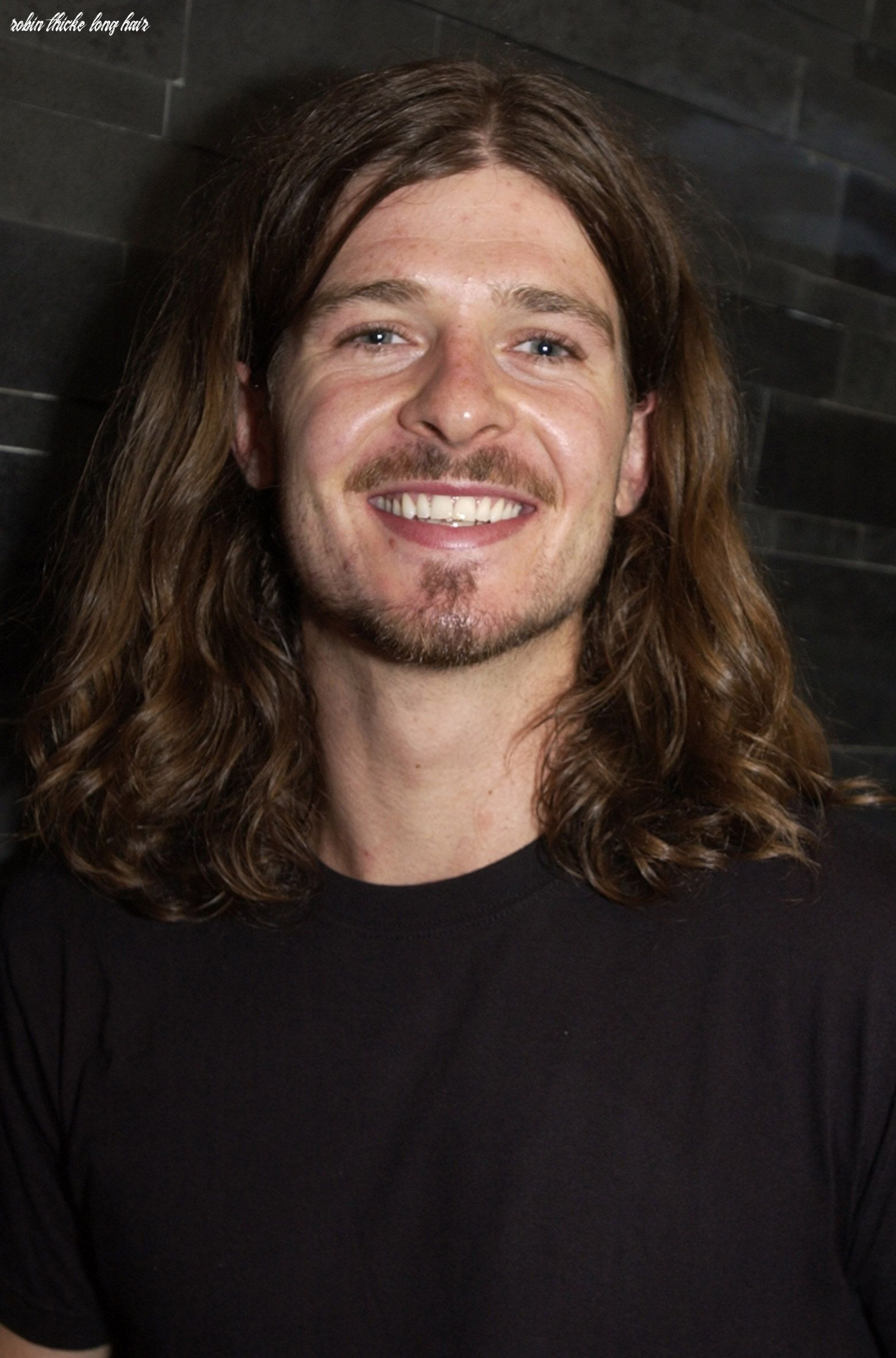 It's robin thicke's 10th birthday: remember his short lived long hair phase? robin thicke long hair